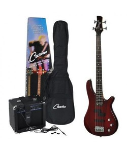 Casino 150 series Bass and Amp Pack Black - Copy
