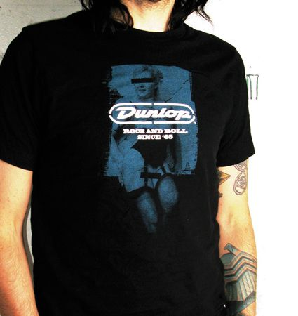 Dunlop Rock and Roll Since 65  L T shirt