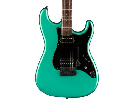 Fender Japanese Boxer Series Stratocaster HH, Rosewood FB - Sherwood Green Metallic