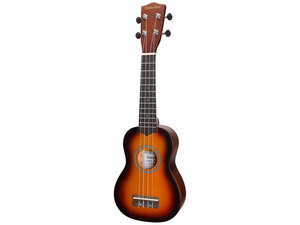 Sanchez Colourburst Series Soprano Ukulele - Old Vintageburst