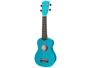 Sanchez Colourburst Series Soprano Ukulele - Sky Blue