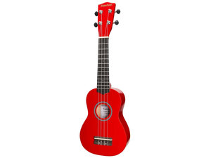 Sanchez Colourburst Series Soprano Ukulele - Red