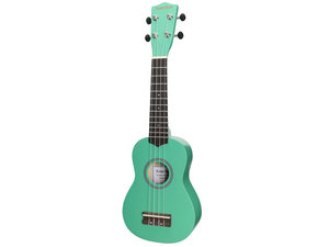 Sanchez Colourburst Series Soprano Ukulele - Green