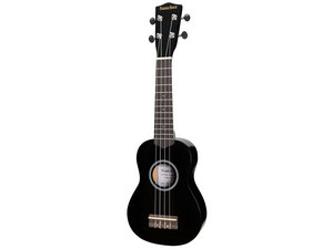 Sanchez Colourburst Series Soprano Ukulele - Black